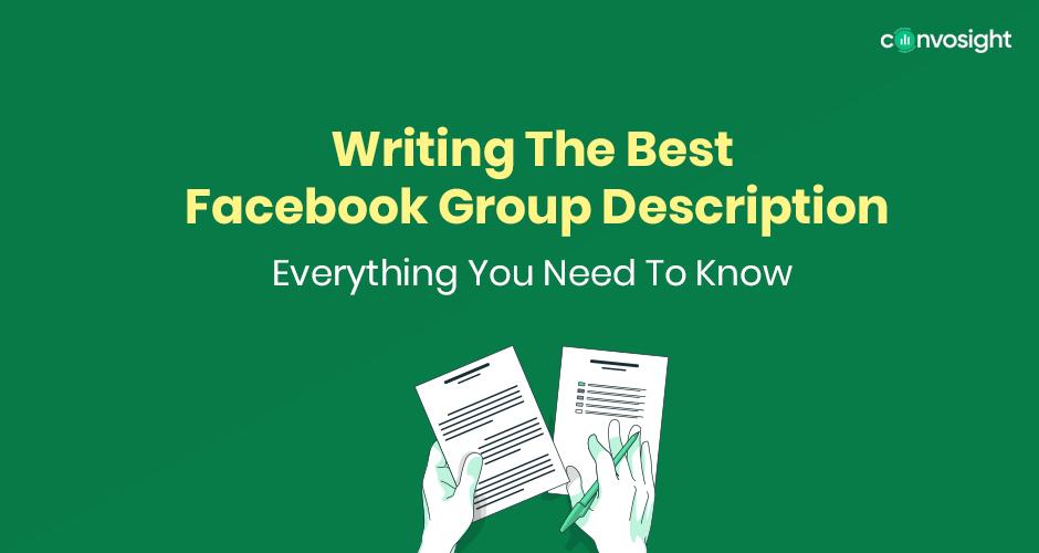 Facebook Group Description