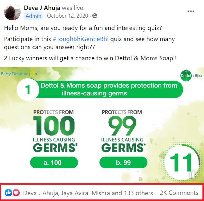 Facebook Group Contest Ideas - Live Quiz