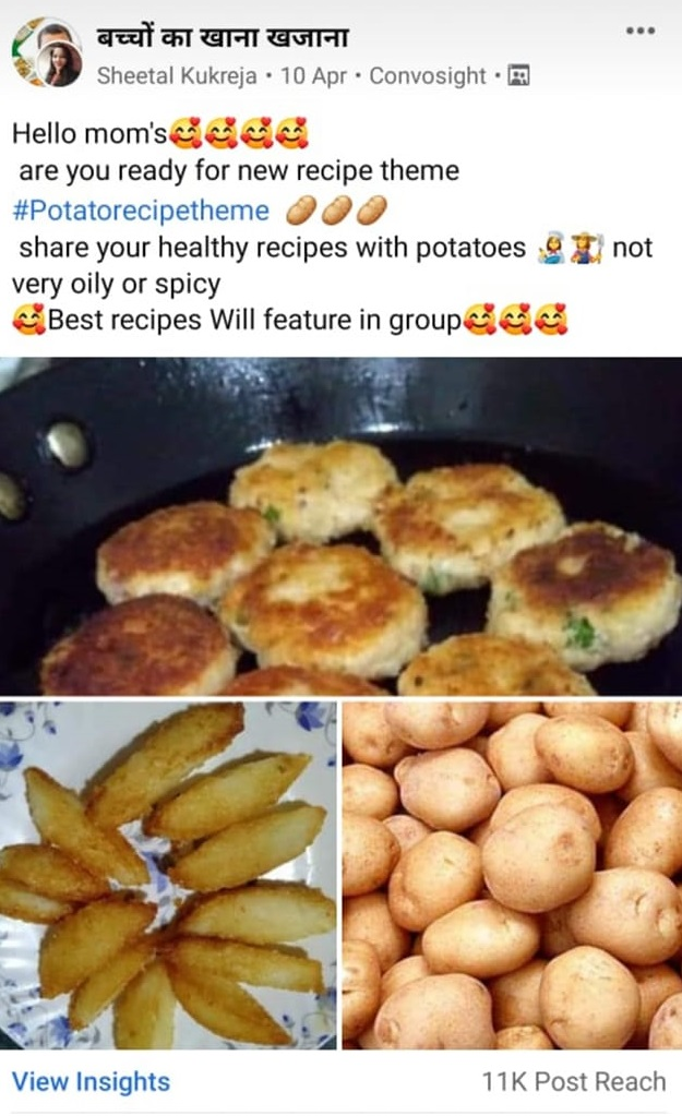 Facebook group contest idea for food group