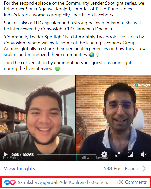 facebook group live ideas - Interview