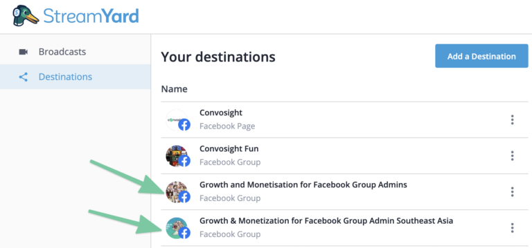 How to go live in multiple groups on Facebook?