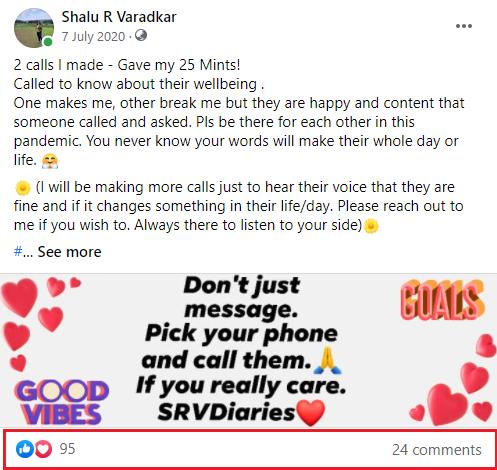 call people for Success Story - Shalu R Varadkar