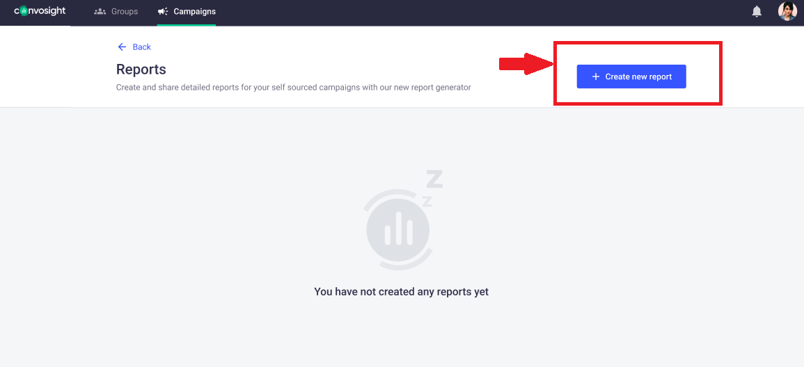 How to create new report