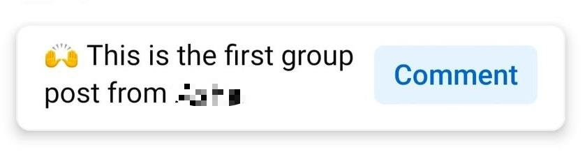 Facebook group changes