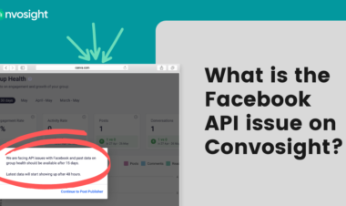 Facebook API issue on Convosight